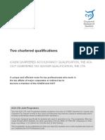 ACA CTA Joint Programme Brochure 2014
