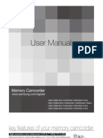 Samsung Camcorder SMX-F40 User Manual