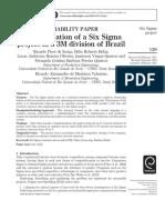 Artículo Six Sigma Project 3M.pdf