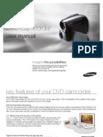 Samsung Camcorder VP-DX200 User Manual