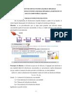 Preparación de Disoluciones Líquidas Binarias a partir de un reactivo líquido