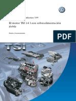 Motor 1.4 TSI Sobrealimentado