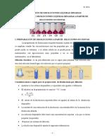 Preparación de Disoluciones Líquidas Binarias (Diluciones Sucesivas) Modificad Aula