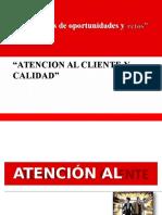 Atencion Al Cliente y Calidad UAP TEMA 5