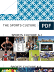 The Sports Culture