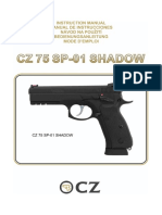 Manual de Instrucciones Cz 75 Sp 01 Shadow Es