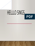 Hello Sings