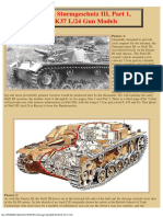 German Sturmgeschutz III, Part 1, StuK37 L24 Gun Models