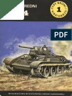 TBiU 001 - Czołg Średni T-34