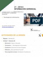 Sesion 02 - Sistemas de Información Gerencial