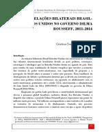 051 as.relações.bilaterais.brasil.estados.unidos Cristina.pecequilo