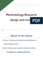 Methodology Discusion