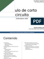 Calculo de Corto Circuito - ANSI