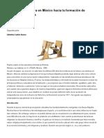 Historia de La Lectura en México Hacia La Formación de Lectores Autónomos
