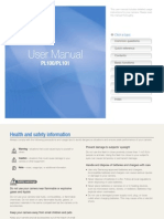 Samsung Camera PL100(TL205) User Manual