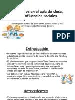 Diapositivas Conflictos en Aula