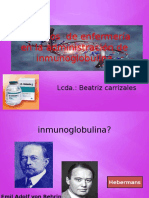 Inmunoglobulina Presentacion Beatriz