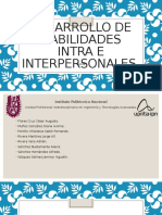 Desarrollo de Habilidades Intra e Interpersonales