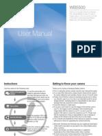 Samsung Camera WB5500 User Manual