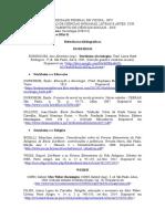 Referências Bibliográficas - Clássicos