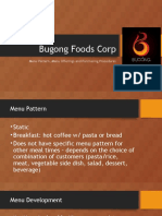 Bugong Foods Corp IDS REPORT