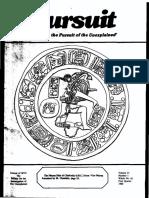 PURSUIT Newsletter No. 81, First Quarter 1988 - Ivan T. Sanderson