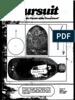 PURSUIT Newsletter No. 85, First Quarter 1989 - Ivan T. Sanderson