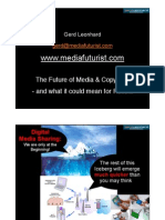 The Future of Copyright - International Economic Forum St Petersburg 2008 (Gerd Leonhard)(slides)