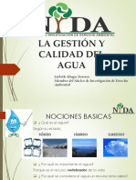 3. Calidad Ambiental (Agua) - 15-05-16 NIDA