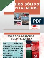 Clasificacion de Desechos Sólidos Hospitalarios
