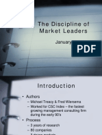 The Discipline of Market Leaders1