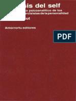 Análisis del self [Heinz Kohut].pdf