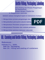 12-Canning and Bottle Filling, Packaging, Labeling
