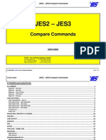 JES2-JES3 Compare Commands
