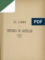 BALBÁS CRUZ, J.a. 1892 - El Libro de La Provincia de Castellón