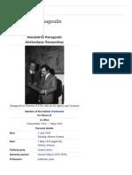 Alexandros Panagoulis - Wikipedia, The Free Encyclopedia