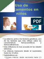 Uso de Medicamentos en Niños