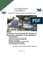Procesos de Manufactura Unidad 2