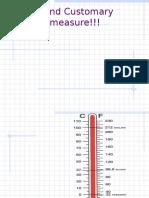 customary units-measurement