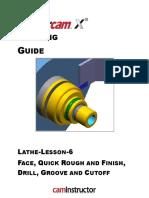 Mastercam Lathe Lesson 6 CAMInstructor