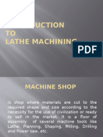 Introduction to Machining