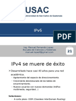 21.5a Usac Redes2 - Ipv6