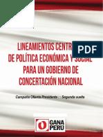 Ollanta Humala Hoja de Ruta-1