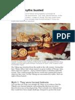 8 Viking Myths Busted