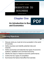 PPT Chapter 1 Intro to Business &Amp; Economic