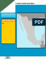 Geografía - Rompecabezas de México