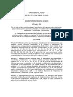 Decreto 3733 de 2005