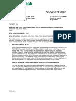 600079 - 608B, 608S, 608L, 753G, 753GL Tier II Track Feller Buncher Introduction Bulletin