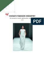 China Fashion Industry Kansenrapport