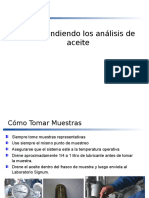 Comprendiendo Los Análisis de Aceite - Advanced Training Marine SP.ppt